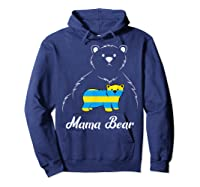 Down Syndrome Mom Awareness Trisomy 21 Gold Blue Ribbon Gift T-shirt Hoodie Navy