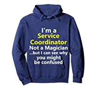 Funny Service Coordinator Job Career Client Occupation Gift Shirts Hoodie Navy