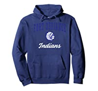 Fort Defiance High School Indians Premium T-shirt Hoodie Navy