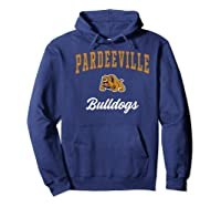 Pardeeville High School Bulldogs Premium T-shirt Hoodie Navy