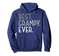 Best Grampy Ever Fathers Day Gifts From Grandchildren Grampy Shirts Hoodie Navy