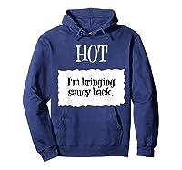 Hot Taco Sauce Halloween Packet Costume T-shirt Hoodie Navy