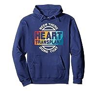 Heart Transplant Organ Recipient Survivor Gift Shirts Hoodie Navy