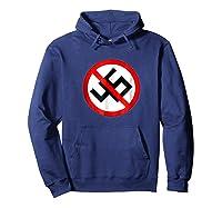 No 45 No Trump Anti Trump T-shirt Hoodie Navy