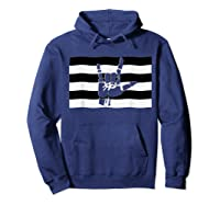 Straight Pride Flag And Love Sign Inside, Heterosexuals Gift Shirts Hoodie Navy