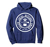 Salem Local Witches Union Est 1692 Halloween Shirts Hoodie Navy
