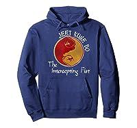 Jeet Kune Do Martial Arts Funny Intercepting Fist T-shirt Hoodie Navy