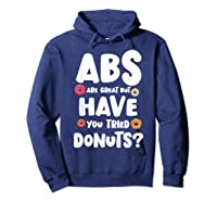 Diet Gift For Him But Doughnut Donut Lover S Foodie Shirts Hoodie Navy