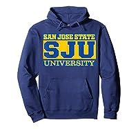 San Jose State 1887 University Apparel Shirts Hoodie Navy
