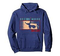 Waylon Jennings Hangin Tough Merchandise Shirts Hoodie Navy