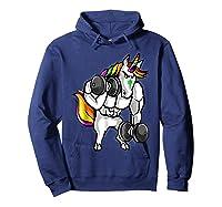Weightlifting Ness Unicorn Shirts Hoodie Navy
