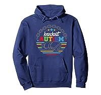 Knockout Autism Awareness Warrior T-shirt Hoodie Navy