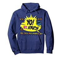 Mtv Yo! Raps Shirts Hoodie Navy