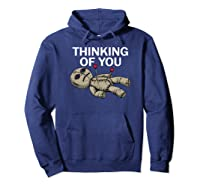 Thinking Of You Voodoo Doll Shirts Hoodie Navy