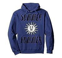 Summer Bummer Seapunk Shirts Hoodie Navy