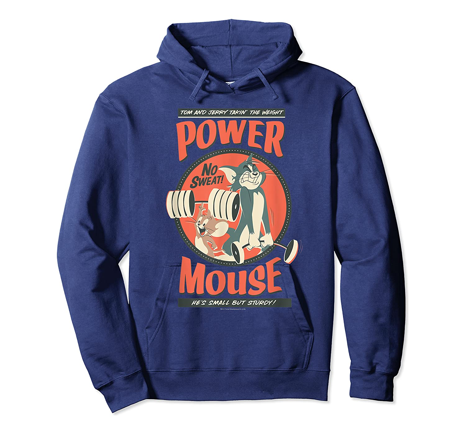 Tom And Jerry Power Mouse T-shirt Unisex Pullover Hoodie