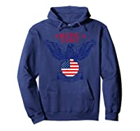 America First Trump 2020 New Shirts Hoodie Navy