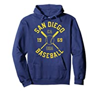 San Diego Baseball Vintage Padre Retro Gift Shirts Hoodie Navy