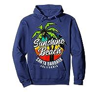 California Hawaii Surf Surfing Board Beach Vintage Retro Shirts Hoodie Navy