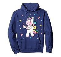 Cute Unicorn, Gift For Unicorn Lover Unicorn Lover Gift Shirts Hoodie Navy