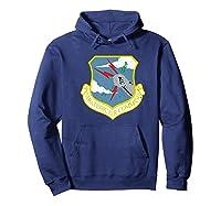 Strategic Air Command Sac Cold War Grunge T-shirt Hoodie Navy