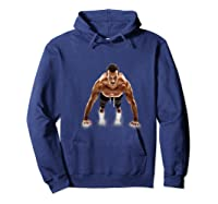 Funny Gym Ness Workout Sport Coach Man Boy Be Stronger Shirts Hoodie Navy