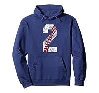 Vintage Baseball Mom #2 Baseball Favorite Player Two T-shirt Hoodie Navy