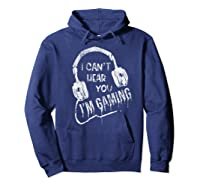 Funny Computer Gaming Gamer Video Game Gift For Shirts Hoodie Navy