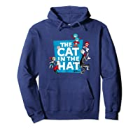 Dr Seuss The Cat In The Hat Characters Shirts Hoodie Navy