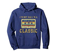 Vintage Cassette I\\\'m Not Old I\\\'m A Classic 1992 27th Tank Top Shirts Hoodie Navy