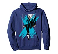 Marvel X- Storm Color Pop Box Graphic T-shirt Hoodie Navy