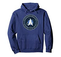 Space Force Logo Full Color Design Astronaut Wear Shirts Hoodie Navy