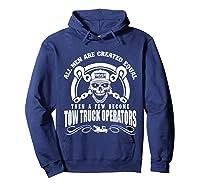 Tow Truck Operator Shirts Hoodie Navy