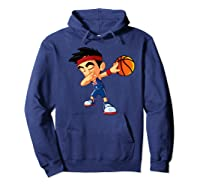 Dabbing Basketball Boy Player Australia Flag Funny Dab Dance Premium T-shirt Hoodie Navy