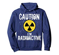 Radiation Therapy Funny Cancer Get Well Soon Gift Survivor T-shirt Hoodie Navy