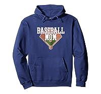 Cute Baseball For Mom Cute Mom Baseball Shirts Hoodie Navy