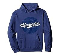 Washington Baseball Retro Vintage National Gift Shirts Hoodie Navy