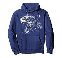 Astro Bike Astronaut Bmx Geschenk Shirts Hoodie Navy
