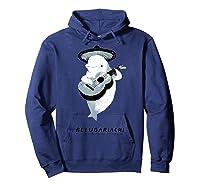 Belugariachi, Beluga Whale T-shirt, Beluga Mariachi T-shirt Hoodie Navy