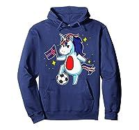 Soccer Unicorn Iceland Design Iceland Football Gift Shirts Hoodie Navy