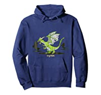 Dragonvale Zombie Dragon Shirts Hoodie Navy