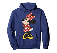 Mickey And Friends Minnie Mouse Traditional Portrait Shirts Hoodie Navy