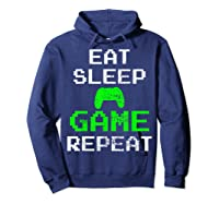 Gaming Console Vintage Shirts Hoodie Navy