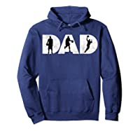 Father Gift For Basketball Dad Shirts Hoodie Navy