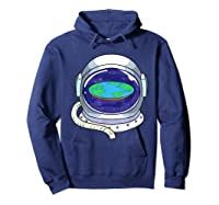 Flat Earth Map Design For A Flat Earth Society Shirts Hoodie Navy