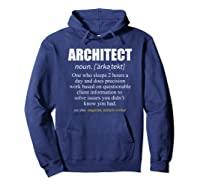 Architect Definition Architecture Gift Shirts Hoodie Navy