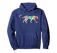 Cute Puma S I Love Cougar Print Shirts Hoodie Navy