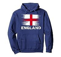 England English Flag Sports Soccer Football Gift Shirts Hoodie Navy