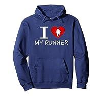 Running Run Runner Track Marathon Funny Cheer Mom Shirts Hoodie Navy