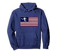 Soccer Us Flag American Football Gift Shirts Hoodie Navy